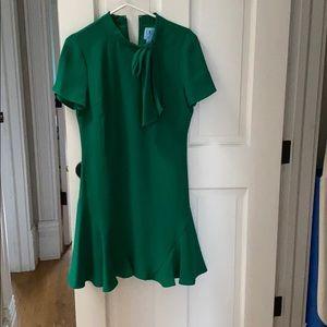 Ce Ce Green Bow Tie Dress